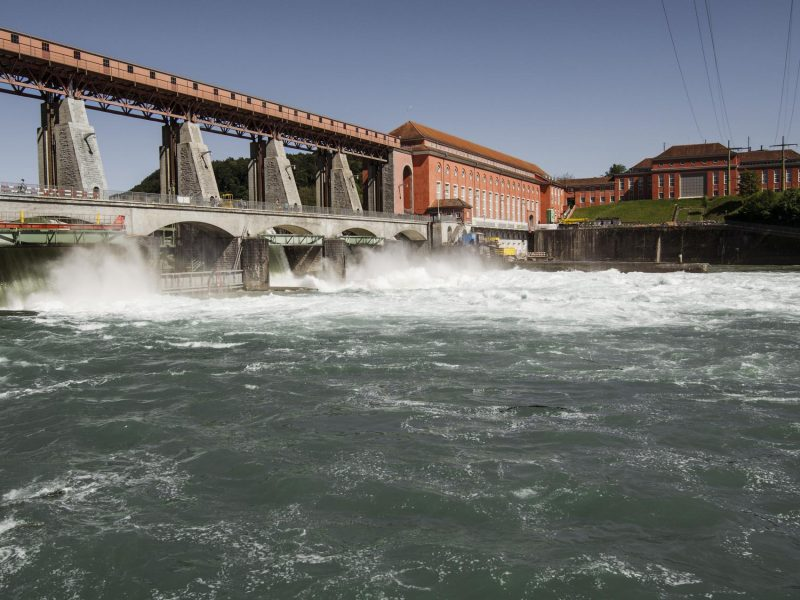 Axpo to produce hydrogen at 43.4-MW Eglisau-Glattfelden hydropower plant