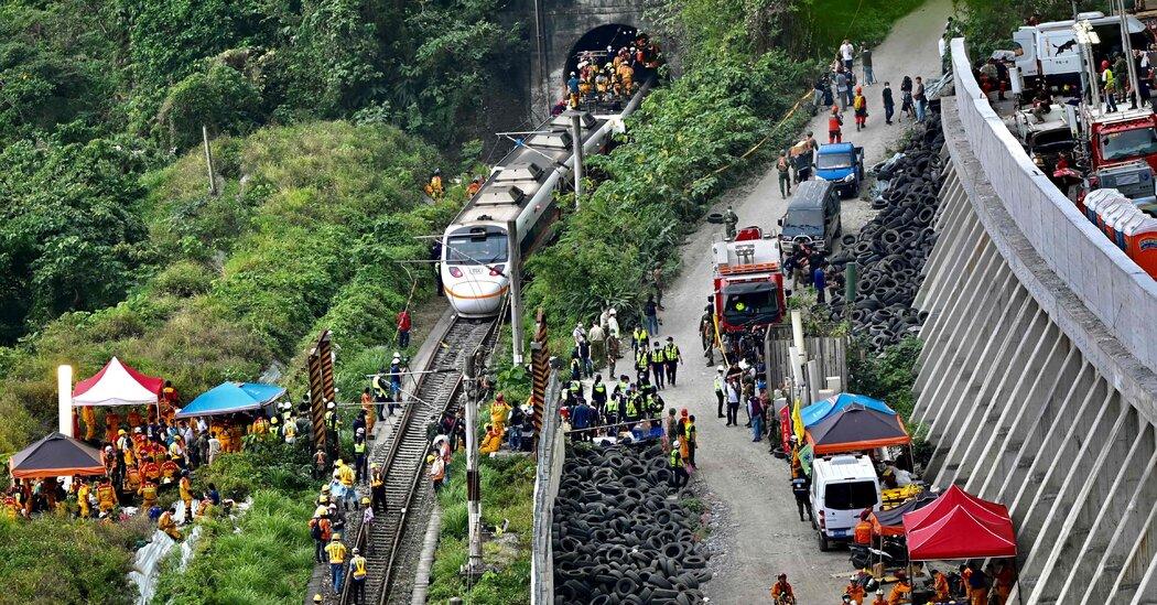 Taiwan Train Crash Kills At Least 36 People, Injuring Dozens