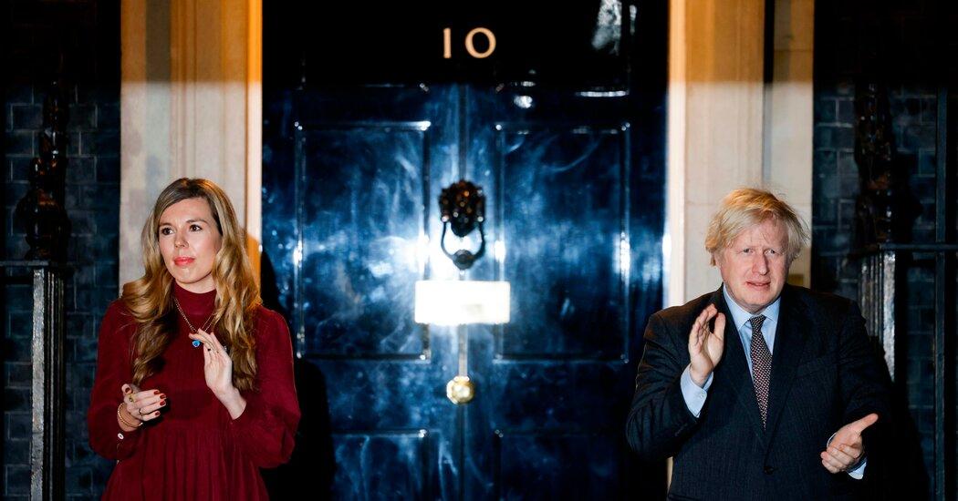 Decorating Scandal Engulfs Boris Johnson and Puts Fiancée in Spotlight